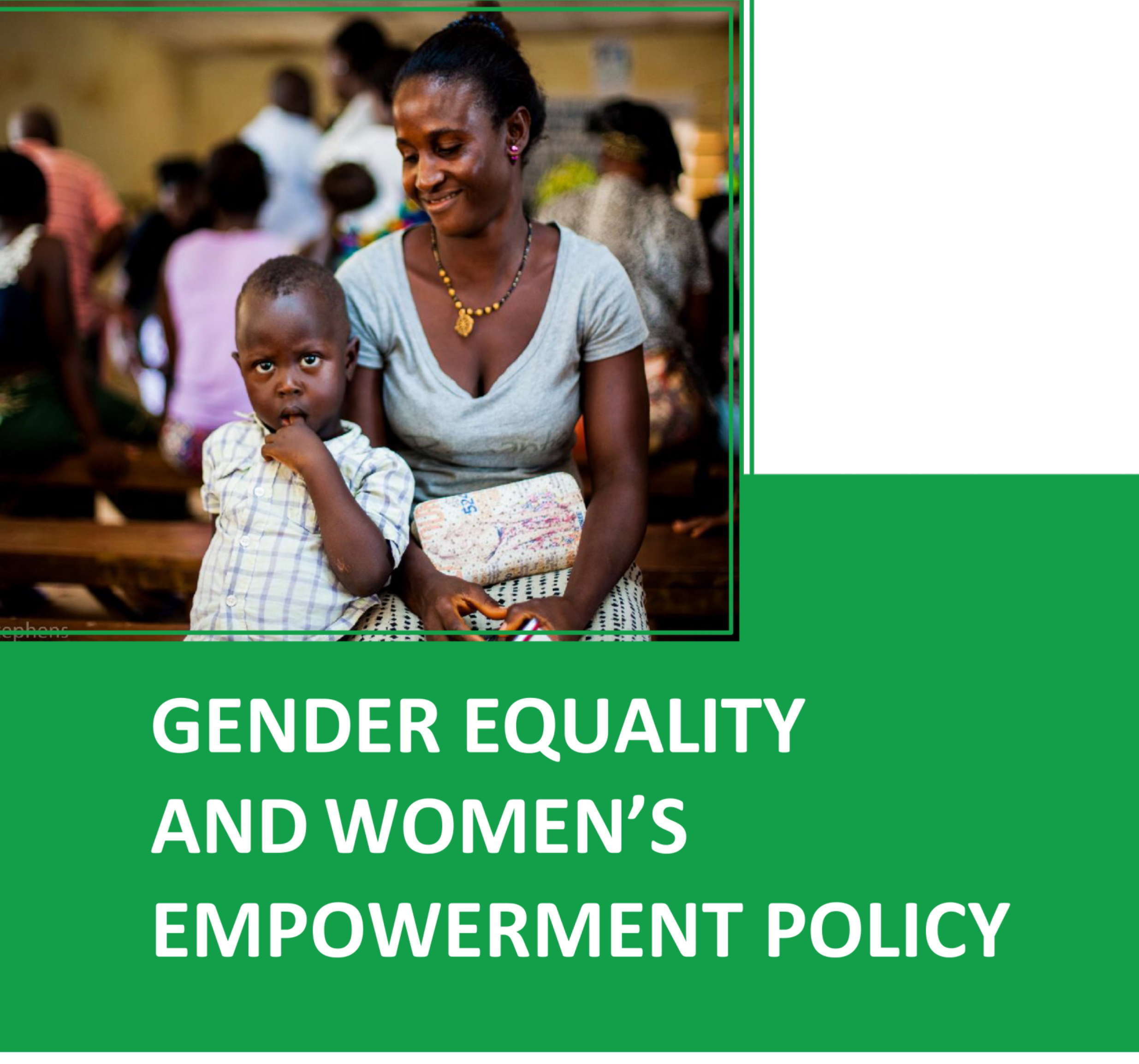GENDER EQUALITY AND WOMEN'S EMPOWERMENT POLICY